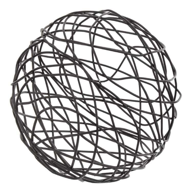 Bouclair Autumn Folk Wire Deco Ball