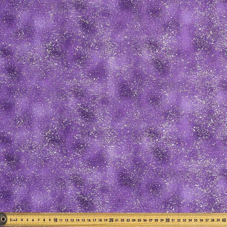 Plain Metallicus Cotton Fabric