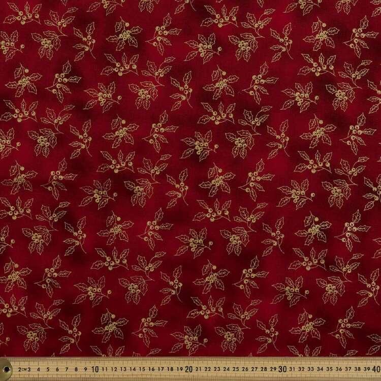 Metallicus Holly Cotton Fabric