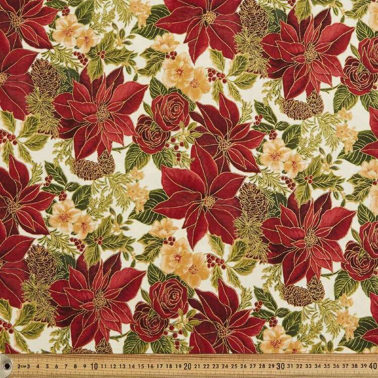 Woodland Splendour Cotton Fabric