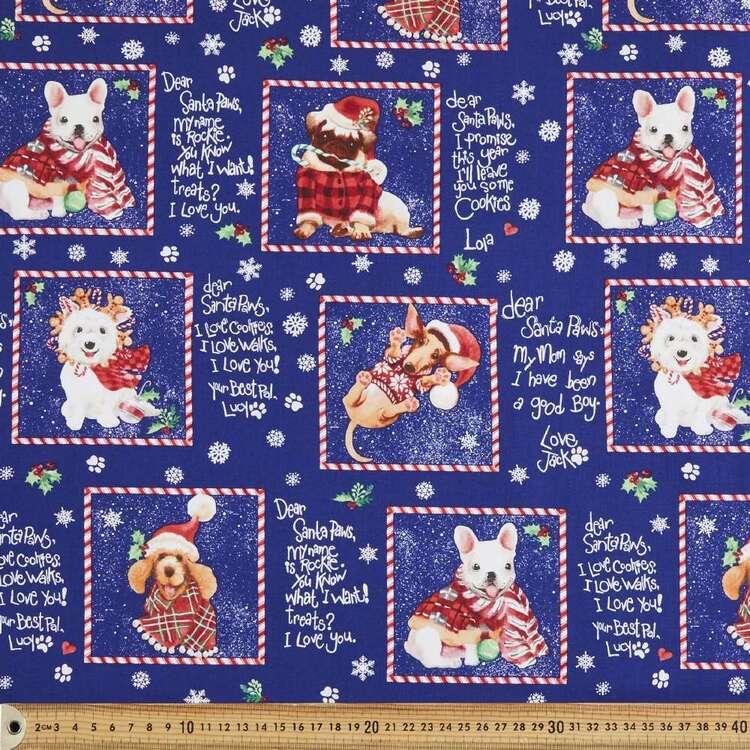 Santa Paws Cotton Fabric