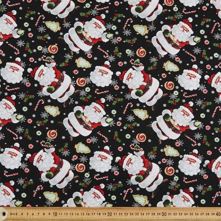 Santa Treats Cotton Fabric