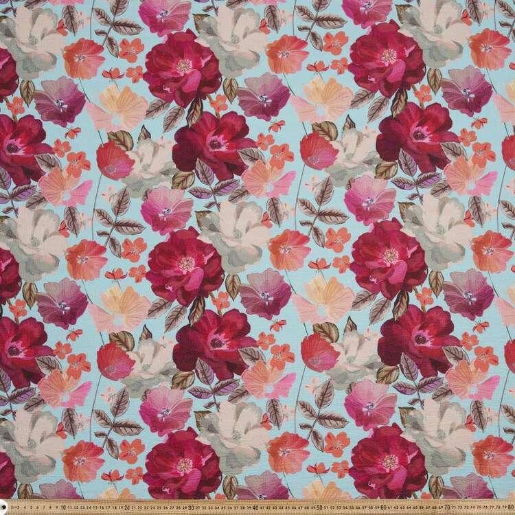 Flower #2 Torino Luxe 130 cm Crepe Fabric