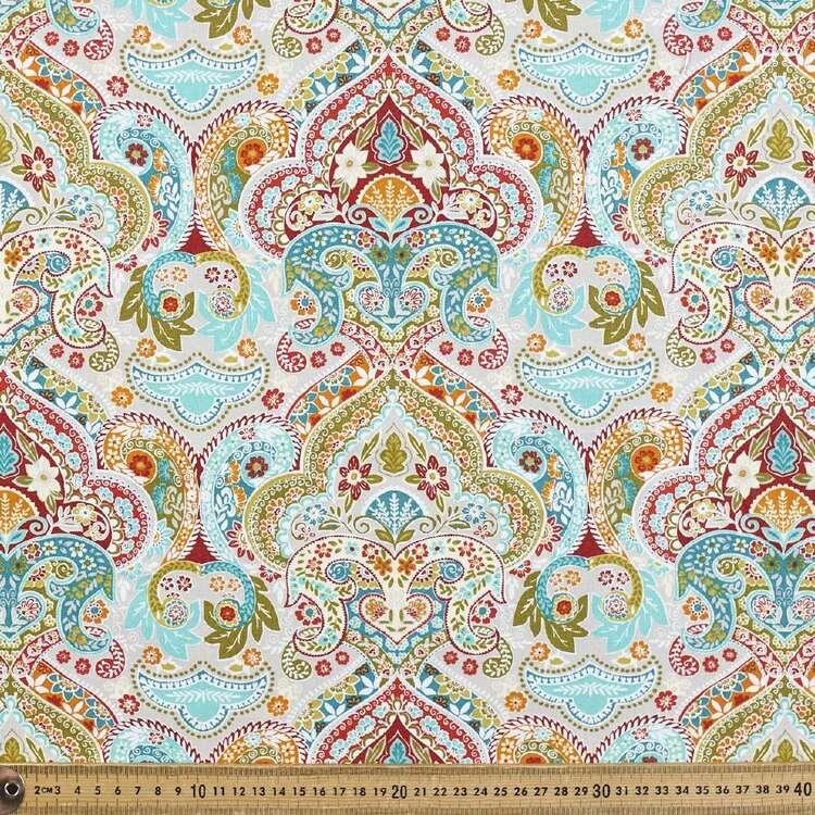 Jahandar Paisley Cotton Fabric