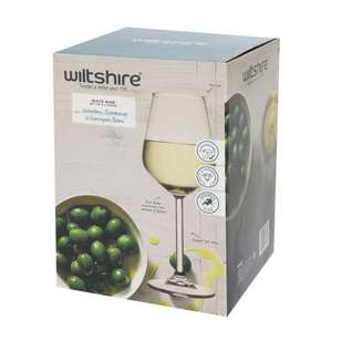 Wiltshire Allegra White Wine Glasses 4 Pack