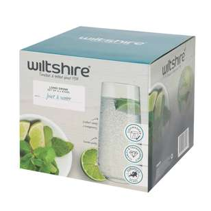 Wiltshire Allegra Long Drink Glass 4 Pack