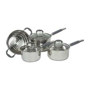 Davis & Waddell Argon Cook set With Glass Lid