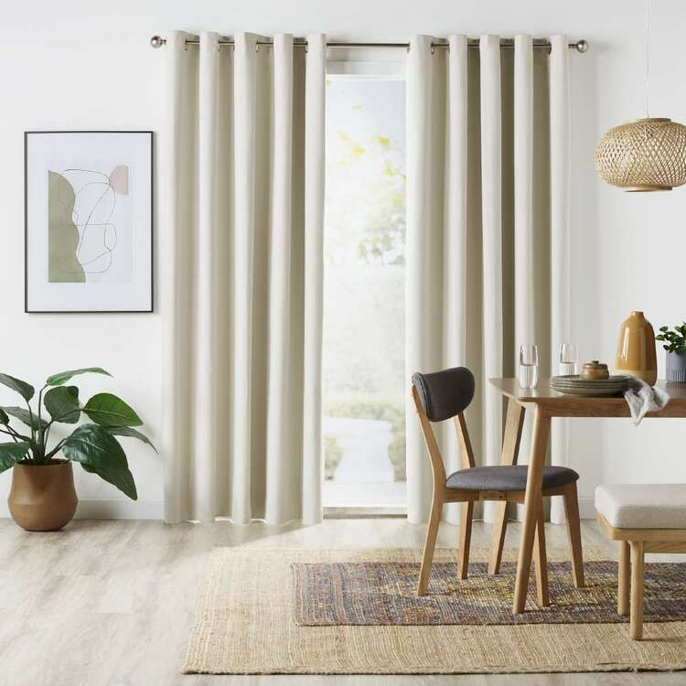 Home Label Collection Aria Blockout Eyelet Curtains