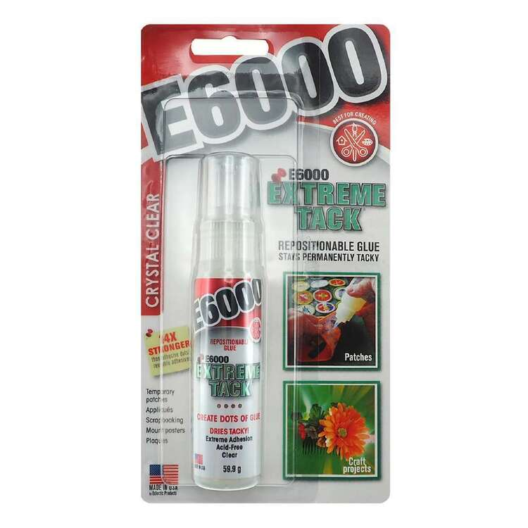 E6000 Extreme Tack Clear Glue