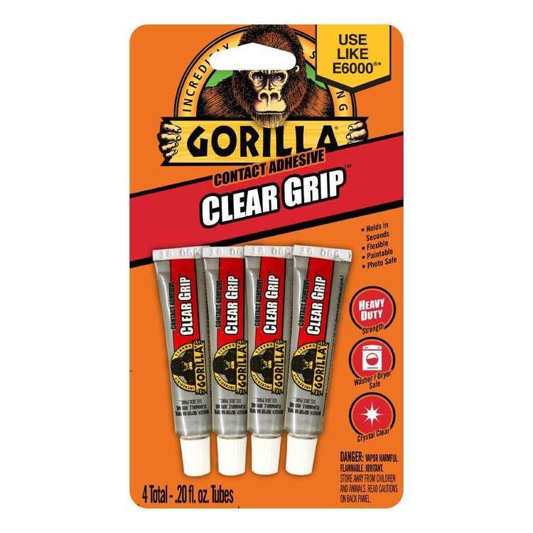 Gorilla Glue Clear Grip 4 Pack