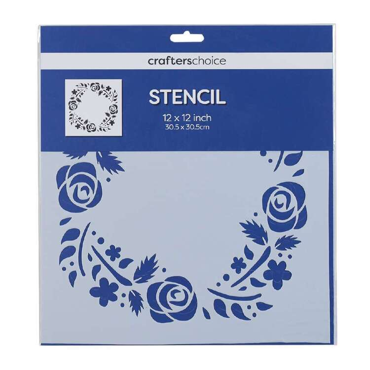 Crafters Choice Large Wreath Stencil