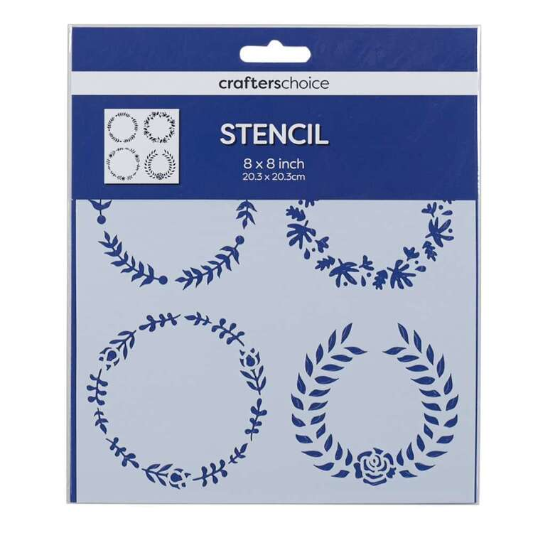 Crafters Choice Small Wreath Stencil
