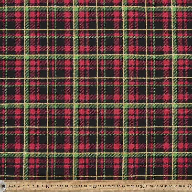 Fabric Traditions Christmas Plaid Fabric