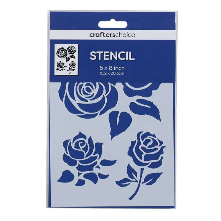 Crafters Choice Flower Pattern Stencil