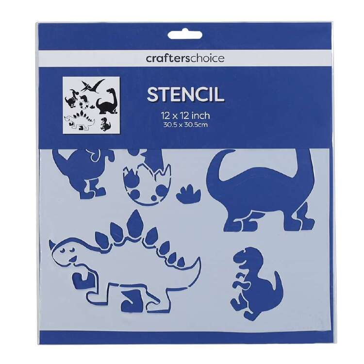Crafters Choice Dino Stencil