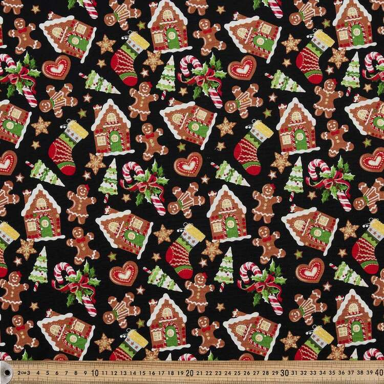 Fabric Traditions Christmas House Fabric