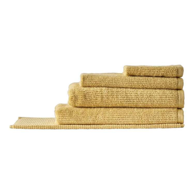 Brampton House Zero Twist Ribbed Towel Collection