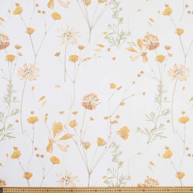 Tuscan Sun Wildflower Canvas