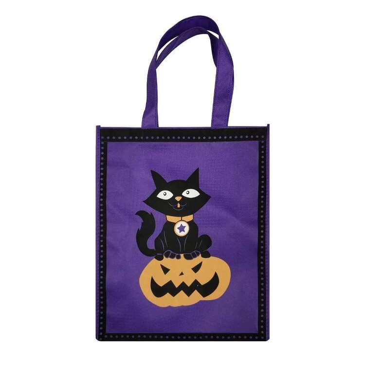 Spooky Hollow Cat Pumpkin Heritage Bag