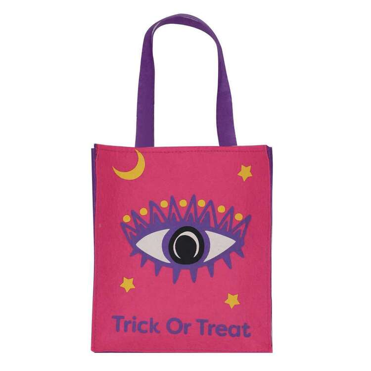 Spooky Hollow Eye Felt Bag