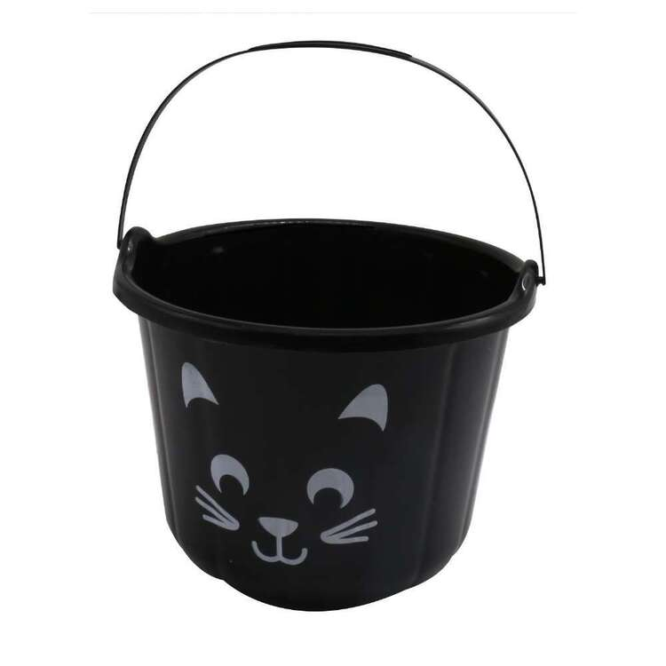 Spooky Hollow Cat Treat Bucket