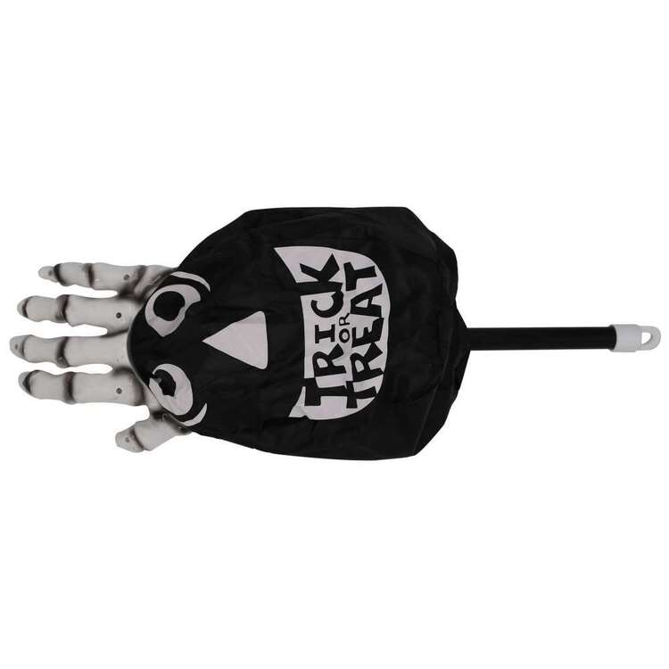 Spooky Hollow Plastic Skull Hand Bag