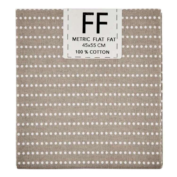 Spring Fling Dotty Stripe Cotton Flat Fat
