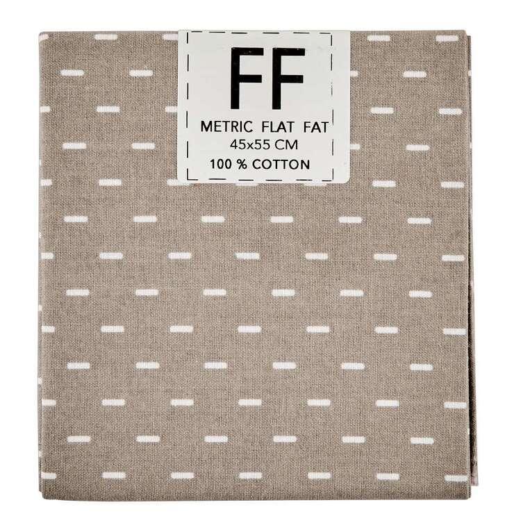 Spring Fling Dash Cotton Flat Fat