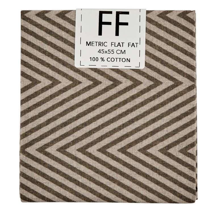 Spring Fling Chevron Cotton Flat Fat