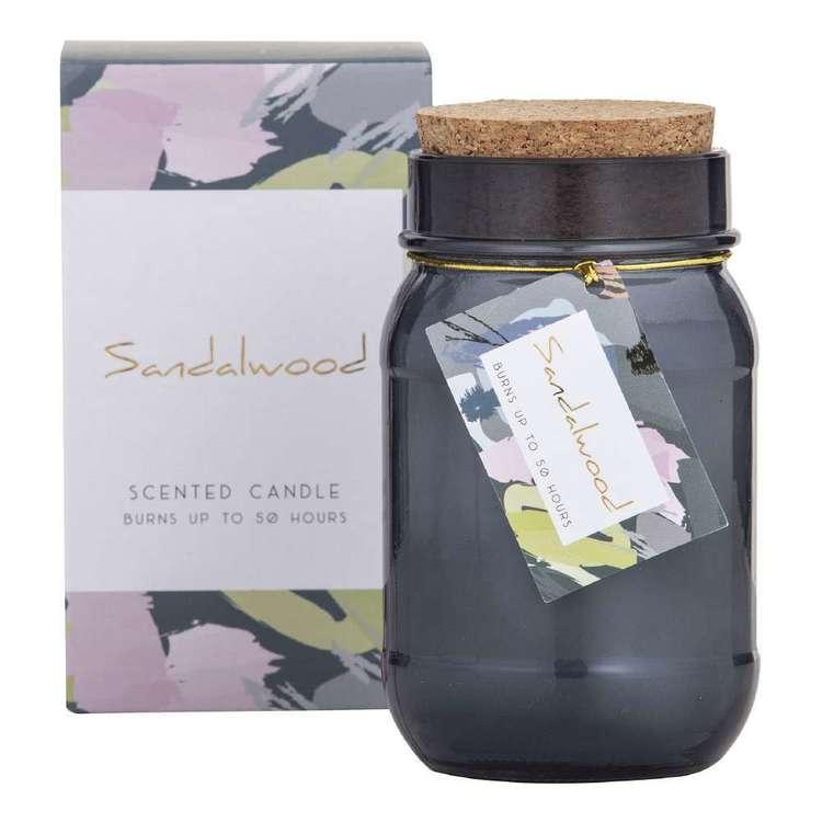 Spectra Sandalwood Scented Candle Jar