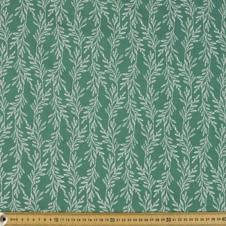 Leaves Organic Cotton Fabric
