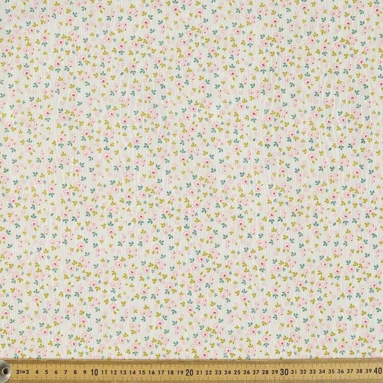 Ditzy Daisy Organic Cotton Fabric