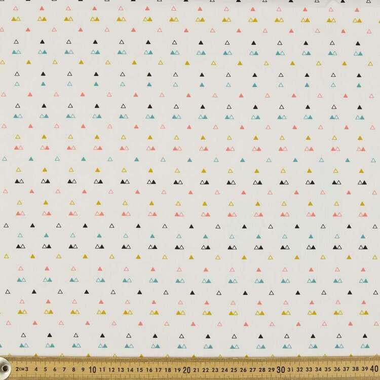 Triangles Organic Cotton Fabric