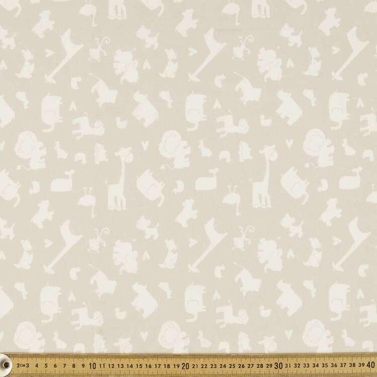 Jungle Babies Organic Cotton Fabric