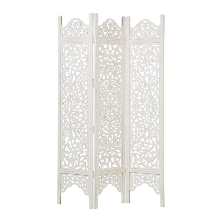 Living Space Tuscan Sun Wooden Room Divider