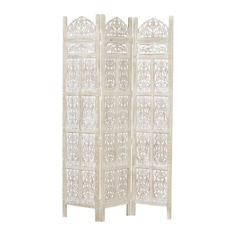 Ombre Home Etched Wooden Room Divider