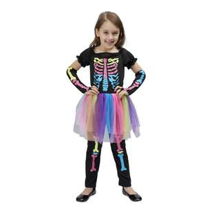 Spartys Rainbow Skull Girl Dress