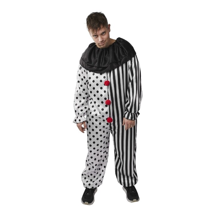 Spartys Scary Clown Adult Costume