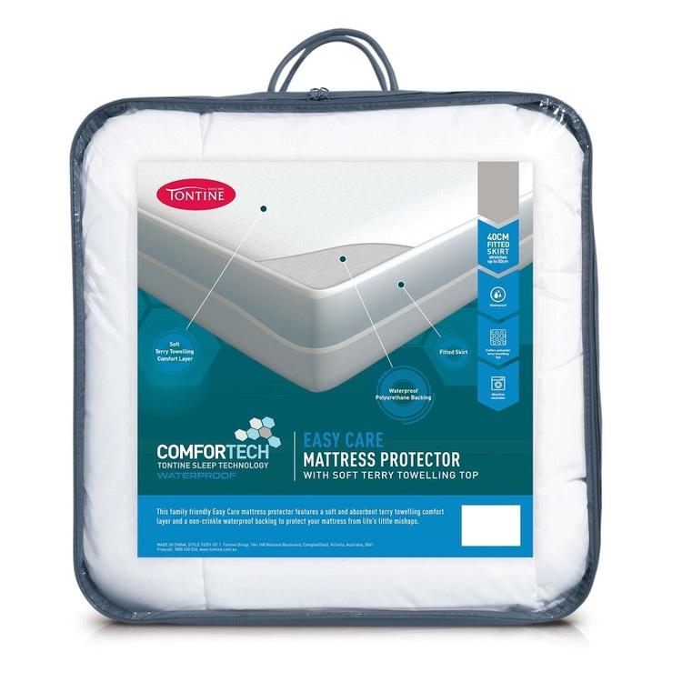 Tontine Comfortech Easy Care Mattress Protector