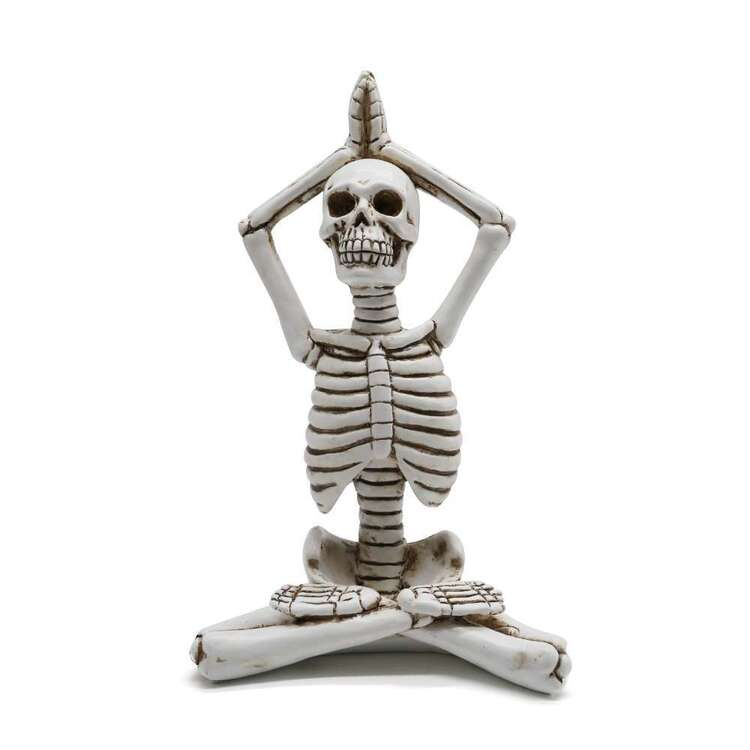 Spooky Hollow Yoga Skeleton