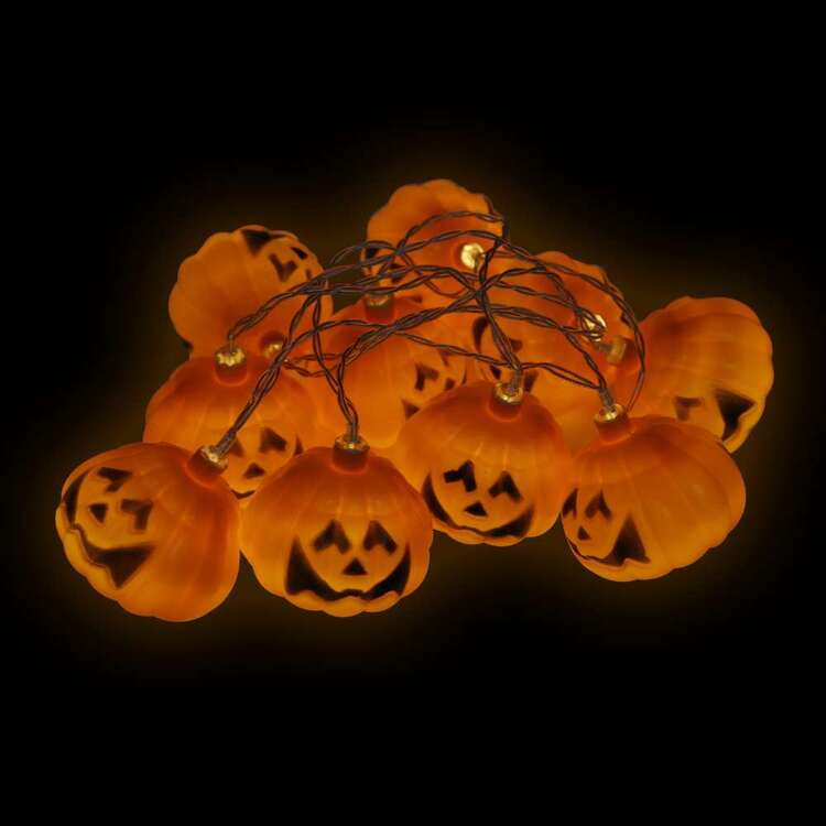 Spooky Hollow Pumpkin Lights