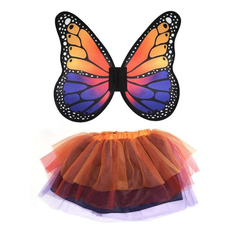 Spartys Butterfly Kids Costume Kit