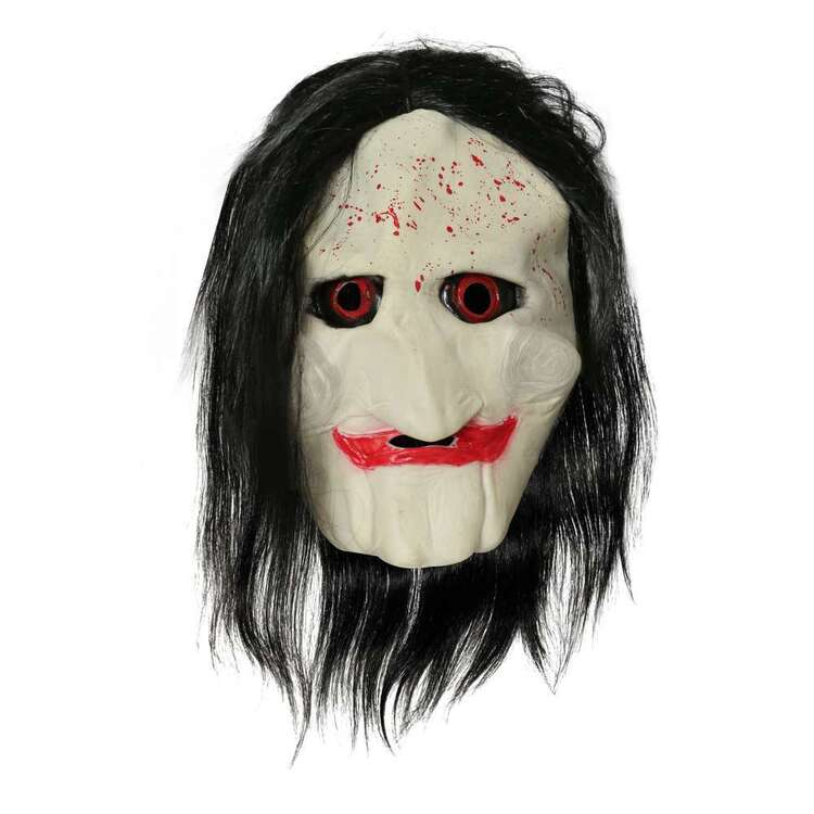 Spooky Hollow Clown Latex Mask