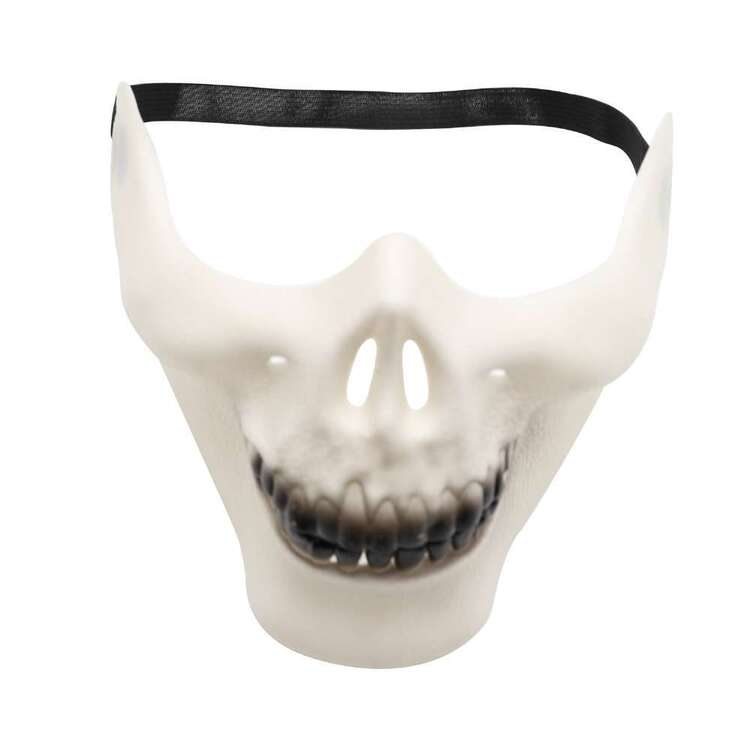 Spooky Hollow Half Skull Mask