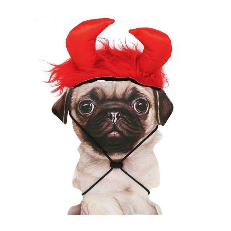 Spartys Devil Pet Headband