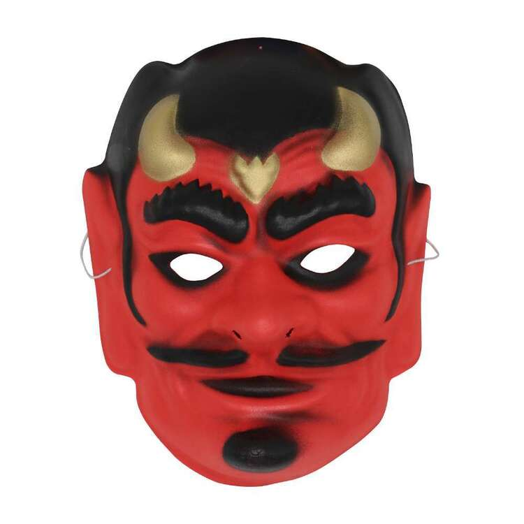 Spooky Hollow Devil Foam Mask