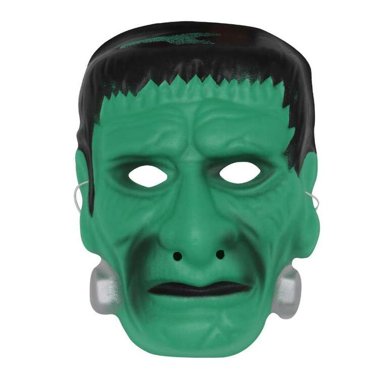 Spooky Hollow Frankenstein Foam Mask
