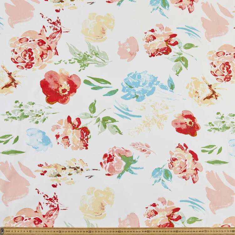 Spring Bloom Thermal Curtain Fabric