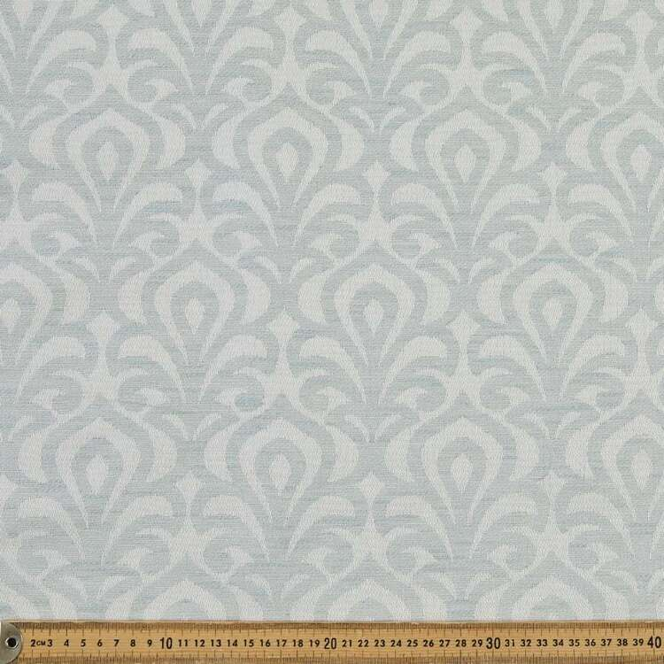 Elegance Pearl Blockout Curtain Fabric