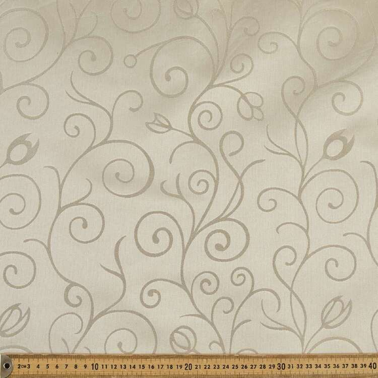 Elegance Aspro Swirl Blockout Curtain Fabric